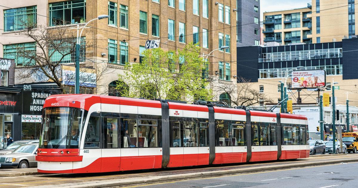 Phương tiện công cộng tại thành phố Toronto Canada
