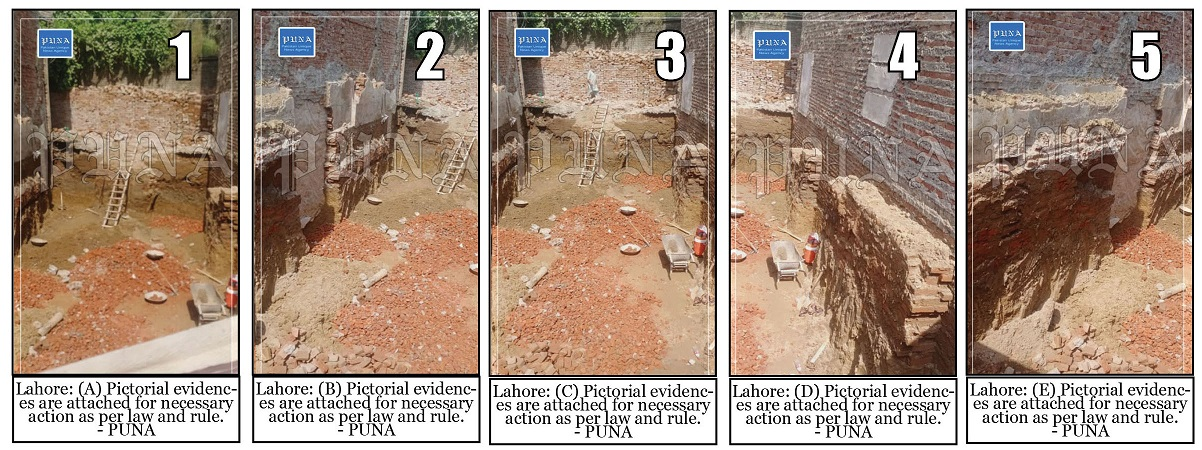 Illegal/Unauthorized Constructions in Shalimar Zone MCL -DN